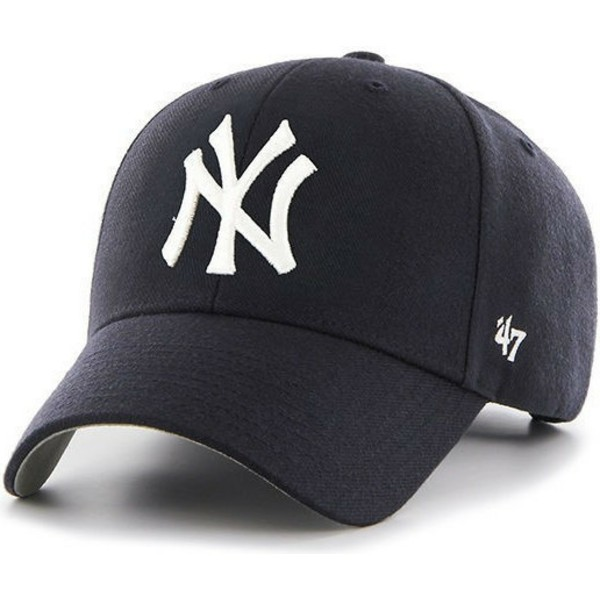 47-brand-curved-brim-youth-new-york-yankees-mlb-mvp-navy-blue-cap