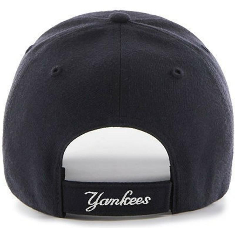 0416e4e922e 47 Brand Curved Brim Youth New York Yankees MLB MVP Navy Blue Cap ...