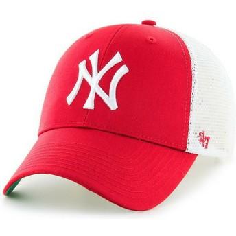 Gorra trucker roja de New York Yankees MLB MVP de 47 Brand