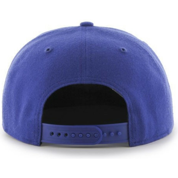 47-brand-flat-brim-los-angeles-dodgers-mlb-captain-blue-snapback-cap