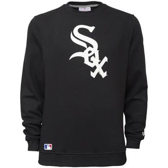 Sudadera negra Crew Neck de Chicago White Sox MLB de New Era