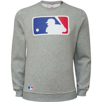New Era Crew Neck MLB Grey Crew Neck Sweatshirt