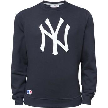 Sudadera azul Crew Neck de New York Yankees MLB de New Era