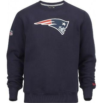 Sudadera azul Crew Neck de New England Patriots NFL de New Era