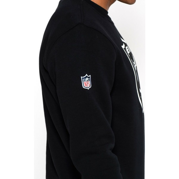 new-era-oakland-raiders-nfl-black-crew-neck-sweatshirt