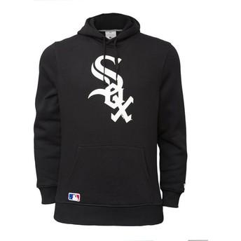 Sudadera con capucha negra Pullover Hoodie de Chicago White Sox MLB de New Era