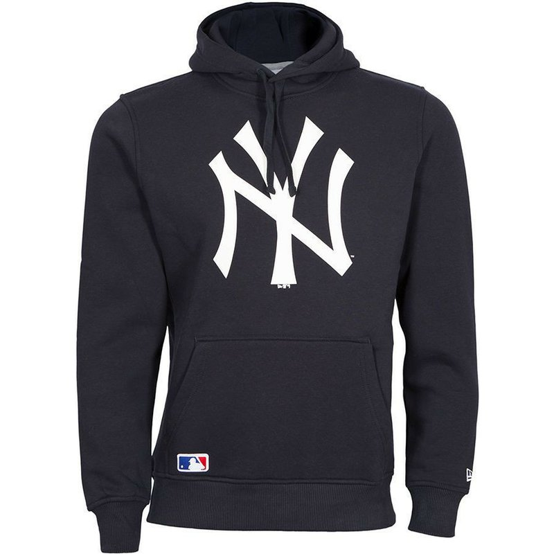 timeless design a6ff8 c7027 New Era New York Yankees MLB Navy Blue Pullover Hoodie Sweatshirt