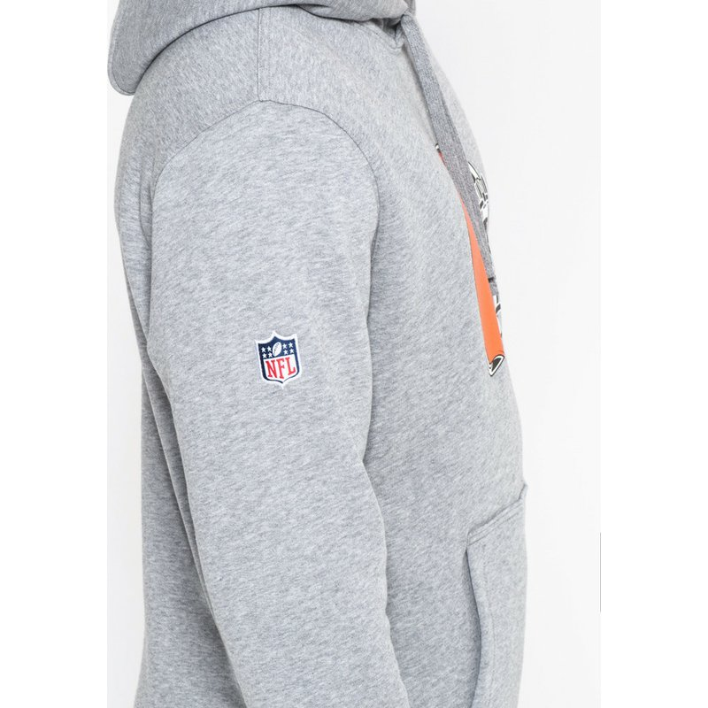 060fd15d7 New Era Cleveland Browns NFL Grey Pullover Hoodie Sweatshirt  Shop ...