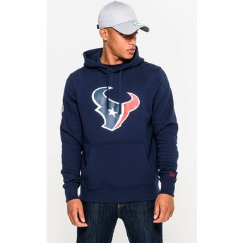 New Era Houston Texans NFL Blue Pullover Hoodie Sweatshirt