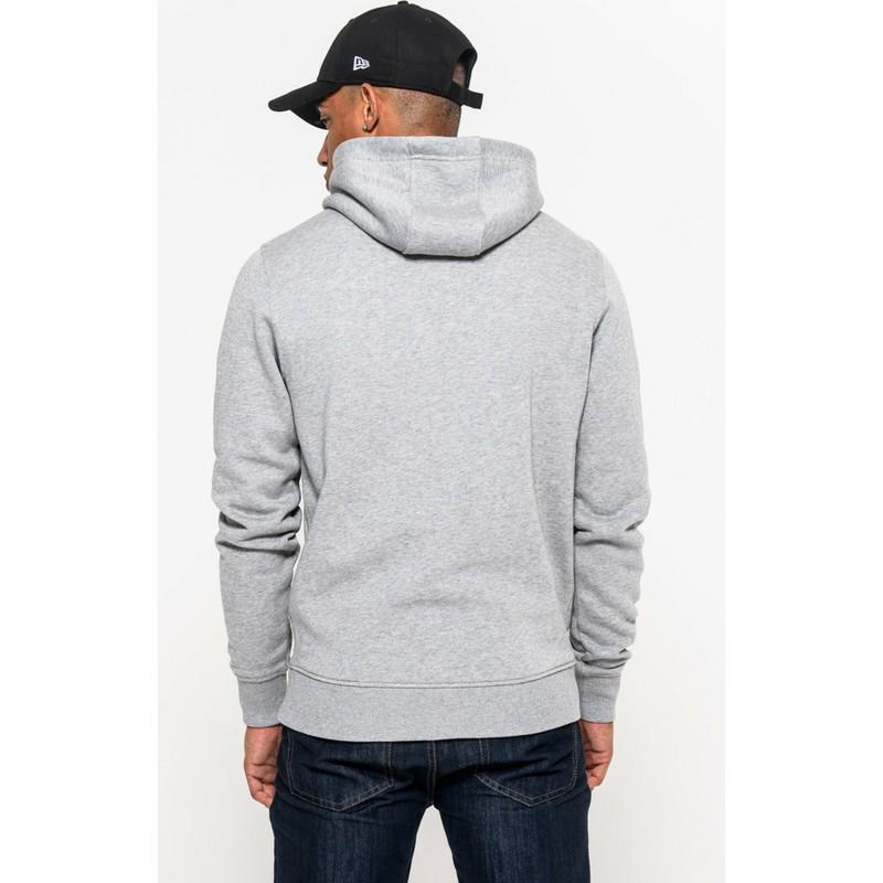 241e68a11 New Era Indianapolis Colts NFL Grey Pullover Hoodie Sweatshirt  Shop ...