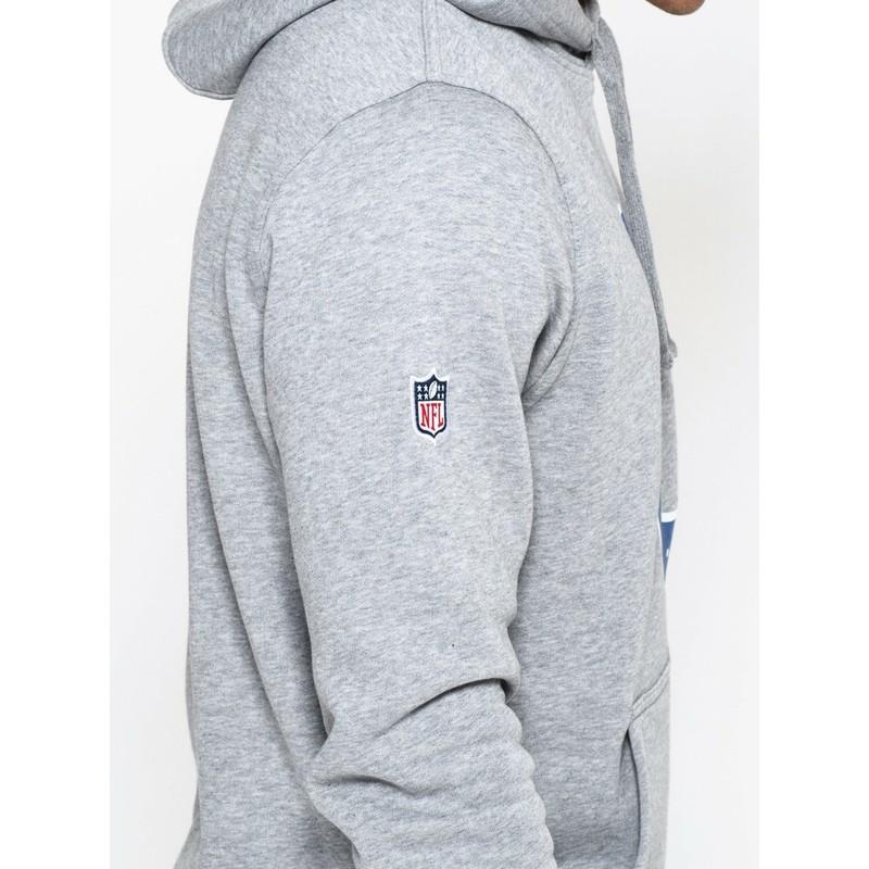 half off 30941 d4d93 New Era Indianapolis Colts NFL Grey Pullover Hoodie Sweatshirt