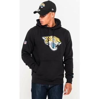 Sudadera con capucha negra Pullover Hoodie de Jacksonville Jaguars NFL de New Era