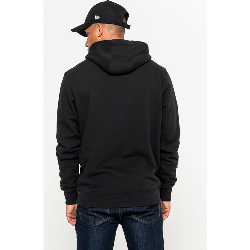 detailed look 0e97a b1b26 New Era Minnesota Vikings NFL Black Pullover Hoodie Sweatshirt