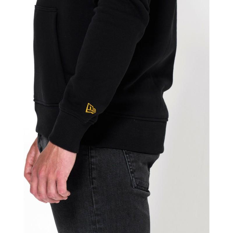 huge selection of 35e1b 87005 New Era New Orleans Saints NFL Black Pullover Hoodie Sweatshirt