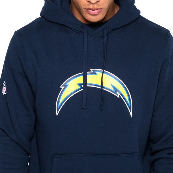 sports shoes a55c2 e8d78 New Era San Diego Chargers NFL Blue Pullover Hoodie Sweatshirt
