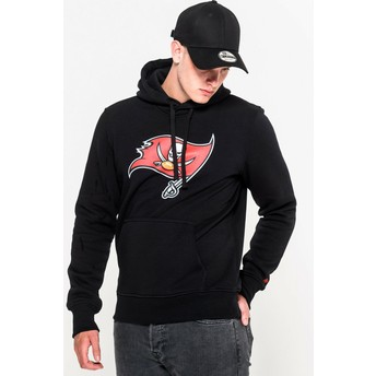 New Era Tampa Bay Buccaneers NFL Black Pullover Hoodie Sweatshirt