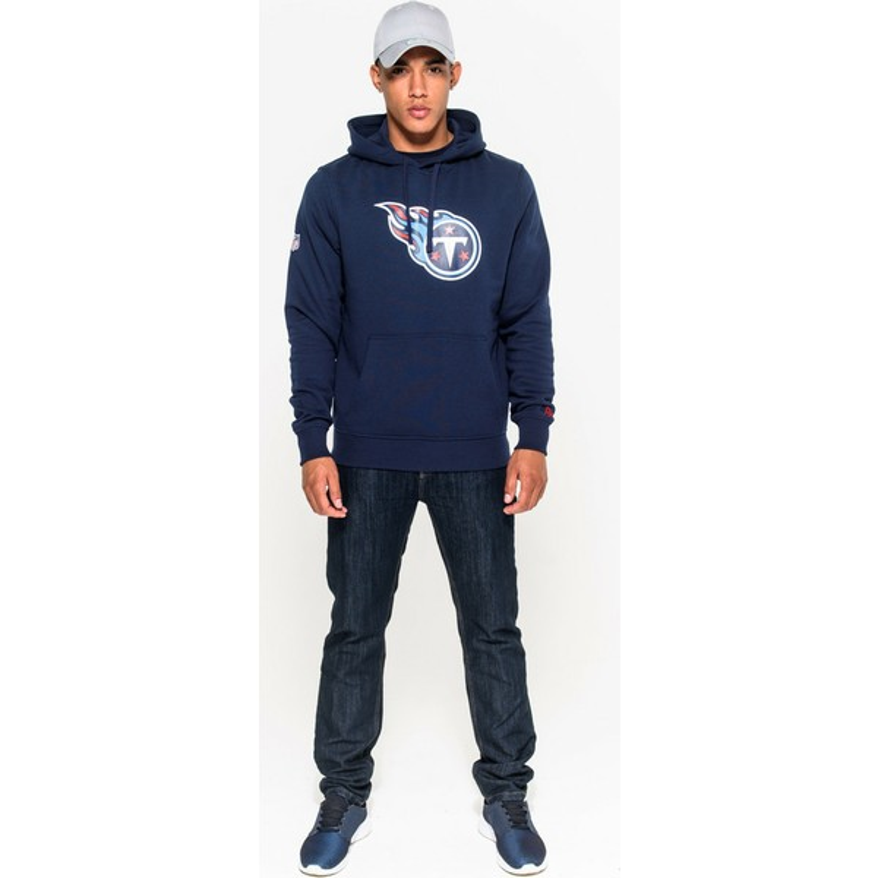 5ecb9f24 New Era Tennessee Titans NFL Blue Pullover Hoodie Sweatshirt