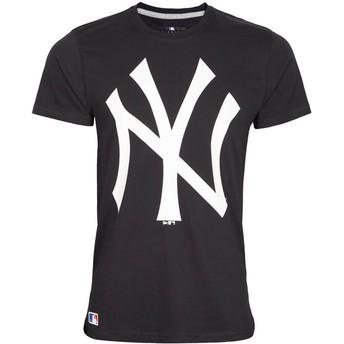 Camiseta de manga corta azul marino de New York Yankees MLB de New Era