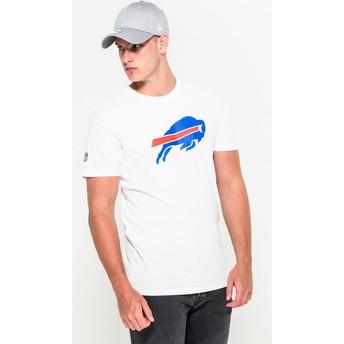 Camiseta de manga corta blanca de Buffalo Bills NFL de New Era