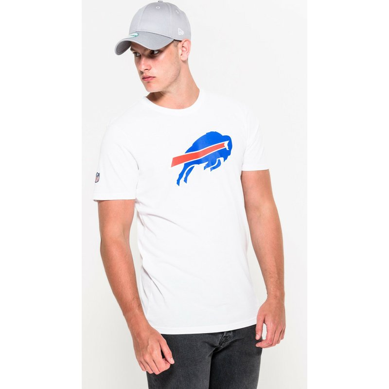 041a45996 New Era Buffalo Bills NFL White T-Shirt  Shop Online at Caphunters