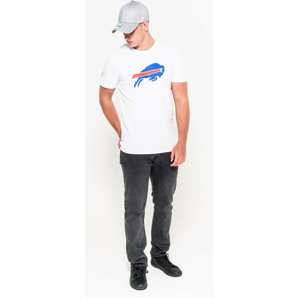 40f7d9bfb New Era Buffalo Bills NFL White T-Shirt  Shop Online at Caphunters