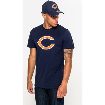 Camiseta de manga corta azul de Chicago Bears NFL de New Era