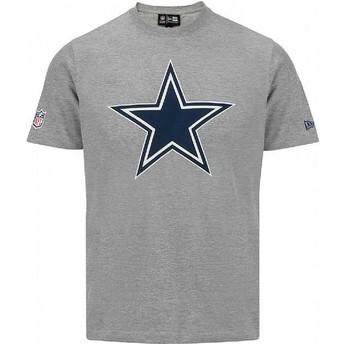 Camiseta de manga corta gris de Dallas Cowboys NFL de New Era