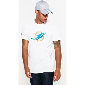 New Era Miami Dolphins NFL White T-Shirt