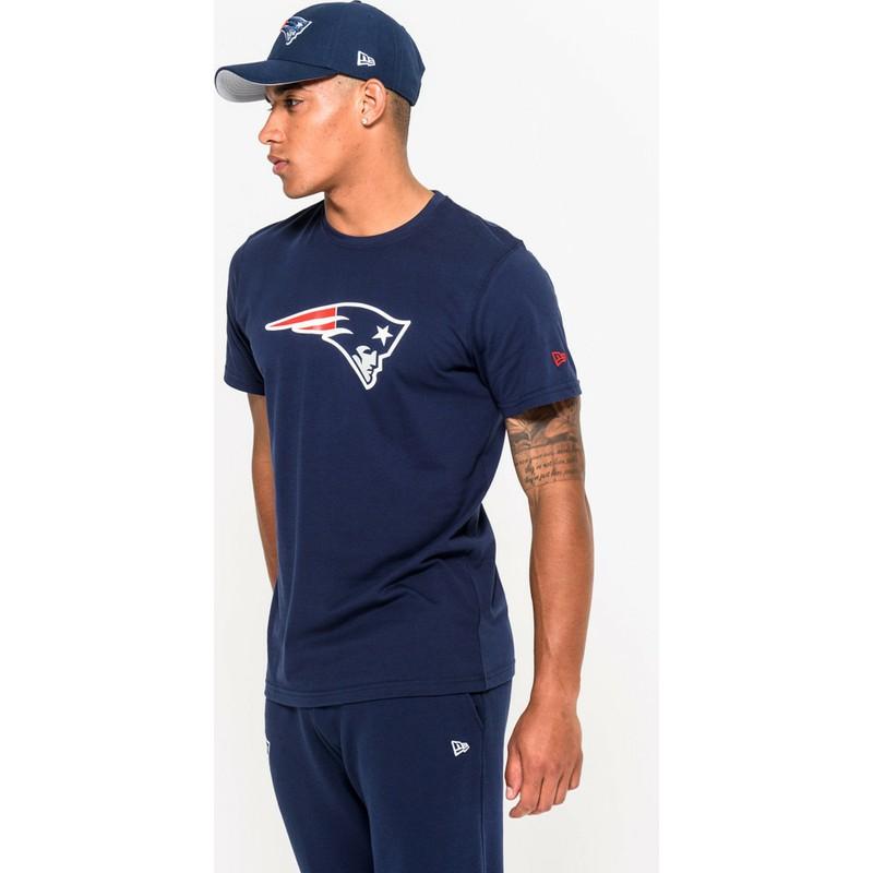 14e6e9168 New Era New England Patriots NFL Blue T-Shirt: Shop Online at Caphunters