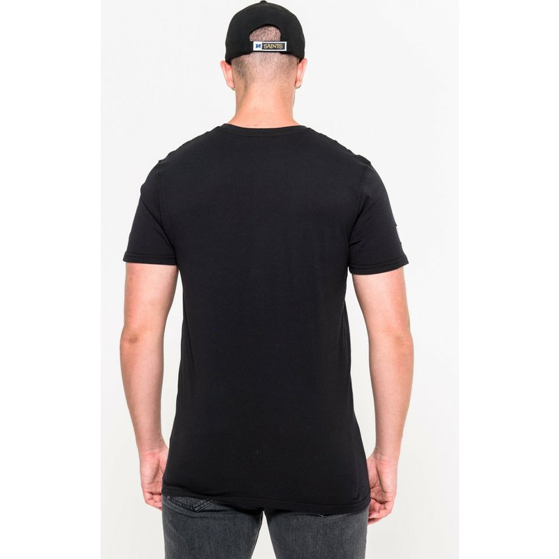 4e82566aa New Era New Orleans Saints NFL Black T-Shirt  Shop Online at Caphunters