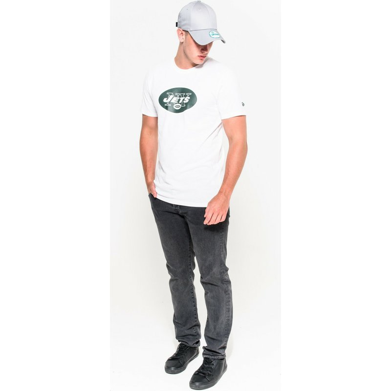 b5f014fee New Era New York Jets NFL White T-Shirt  Shop Online at Caphunters