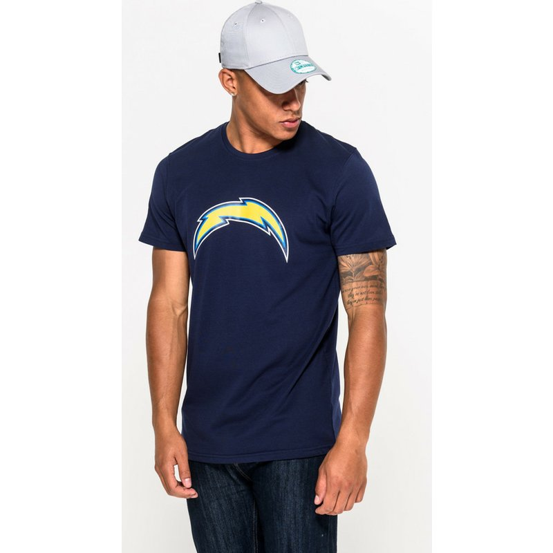 b8d297faaa4f35 New Era San Diego Chargers NFL Blue T-Shirt: Shop Online at Caphunters