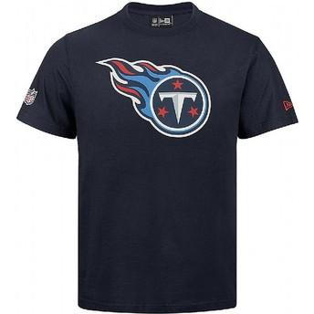 Camiseta de manga corta azul de Tennessee Titans NFL de New Era