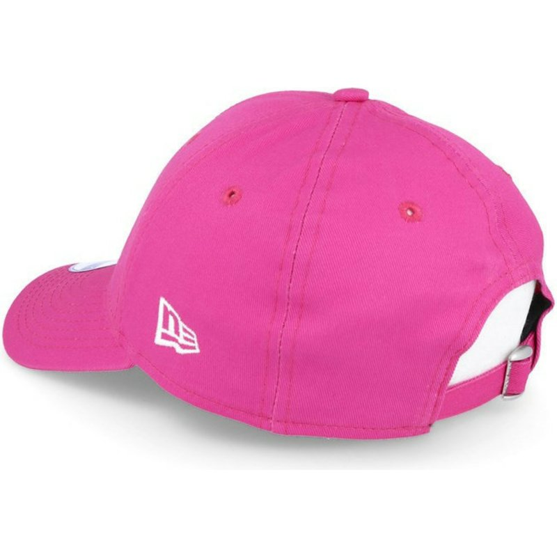 379a701d9ad59 New Era Curved Brim Youth 9FORTY Essential New York Yankees MLB Pink ...
