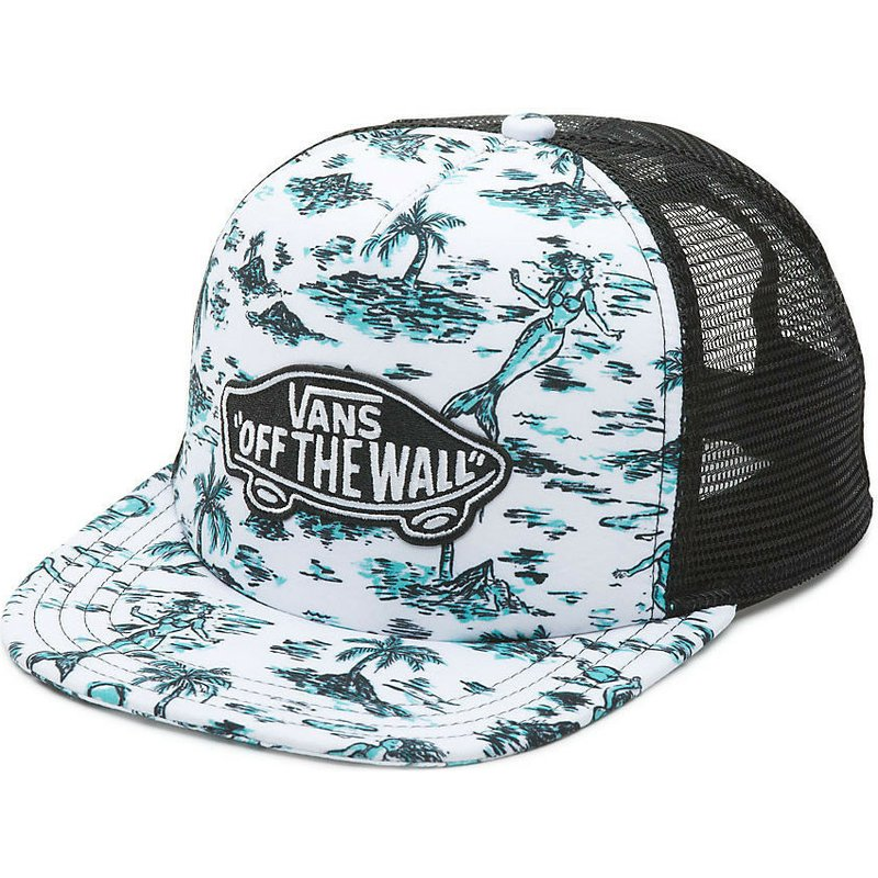 e9a810bce27 Vans Classic Patch Strange Tides White Trucker Hat  Shop Online at ...