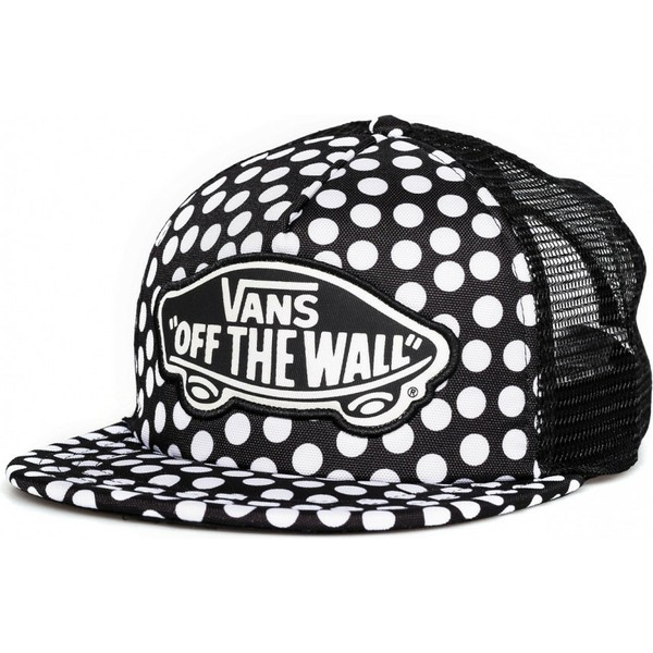 vans-beach-girl-oversize-dots-black-trucker-hat
