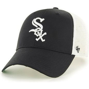 47 Brand Chicago White Sox MLB Black Trucker Hat