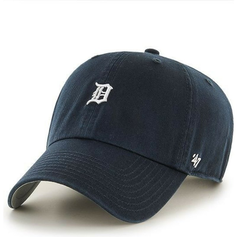 best service 102c5 b2799 47-brand-curved-brim-detroit-tigers-mini-logo-