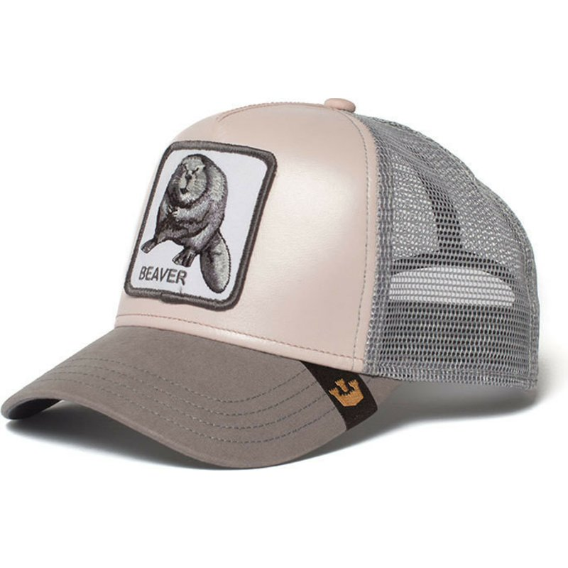 Goorin Bros. Beaver Dam It Pink Trucker Hat  Shop Online at Caphunters 8bc5b712fbeb