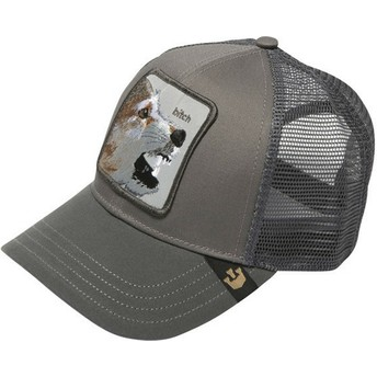 Goorin Bros. Fox Lassy Grey Trucker Hat