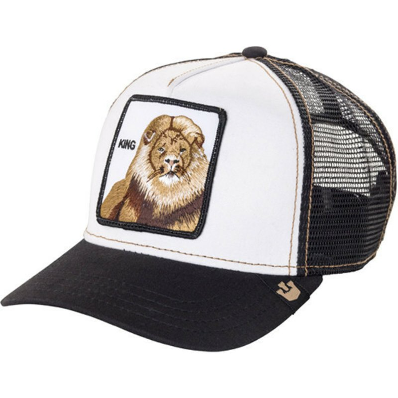 eae032d9 Goorin Bros. King Lion Black Trucker Hat: Shop Online at Caphunters