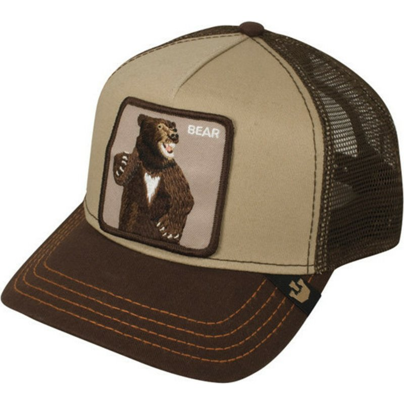 c2d4433d Goorin Bros. Bear Lone Star Brown Trucker Hat: Shop Online at Caphunters