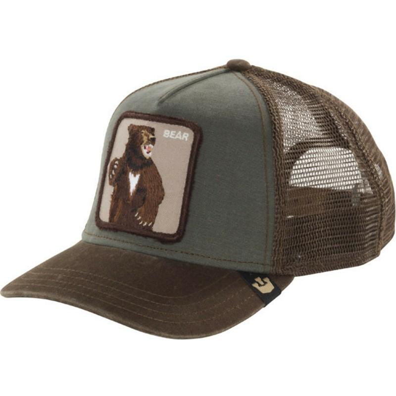e8c9cb60 Goorin Bros. Bear Lone Star Green Trucker Hat: Shop Online at Caphunters