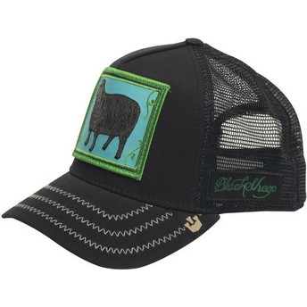 Goorin Bros. Black Sheep Black Trucker Hat