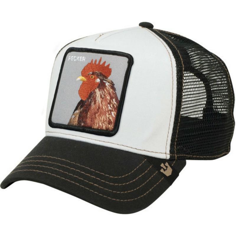 70a2380f Goorin Bros. Rooster Plucker Black Trucker Hat: Shop Online at ...