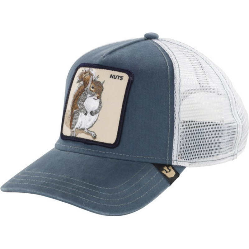 Goorin Bros. Squirrel Nutty Blue Trucker Hat  Shop Online at Caphunters a173442542c1