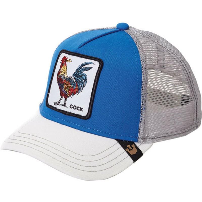 Goorin Bros. Rooster Blue Trucker Hat  Shop Online at Caphunters 0b0b635c216
