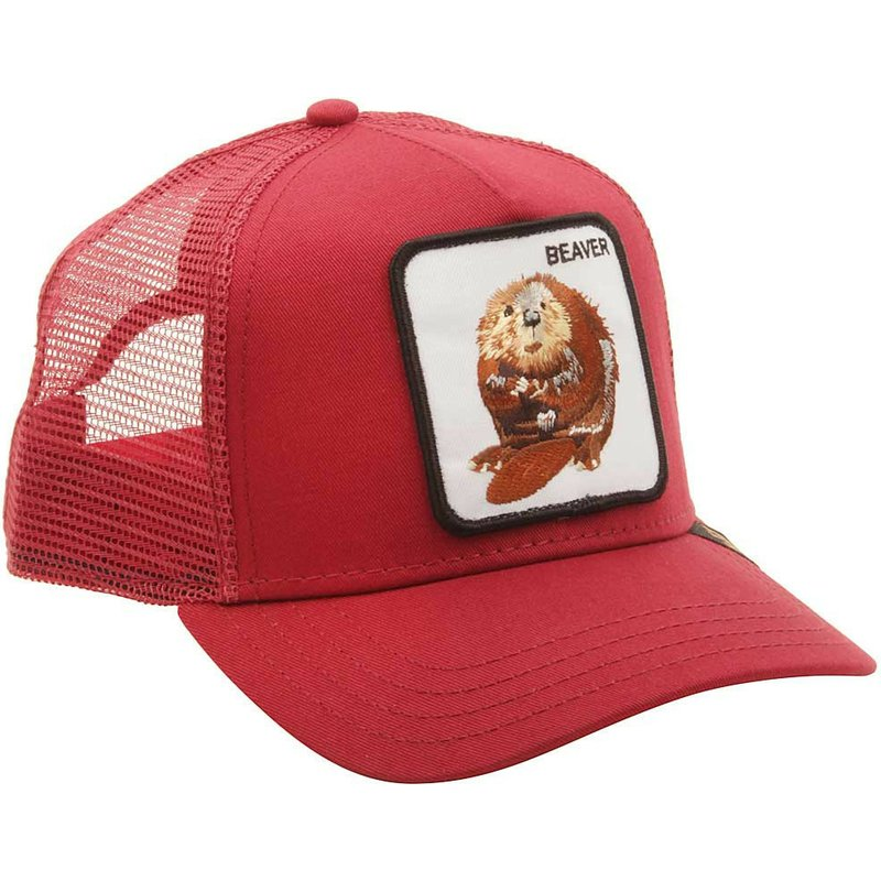 1d92223ba3763 Goorin Bros. Big Red Beaver Red Trucker Hat  Shop Online at Caphunters