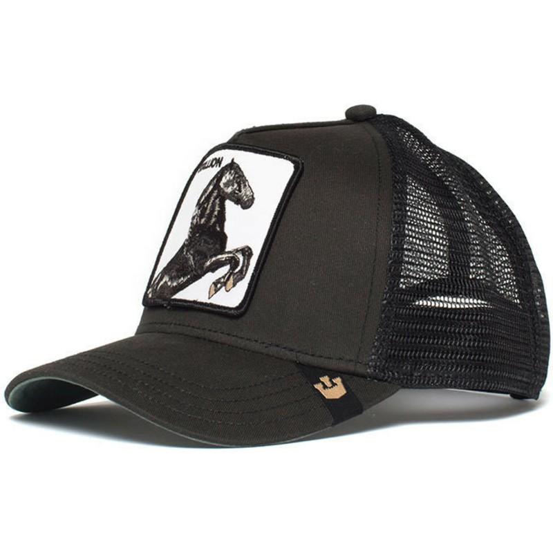 Goorin Bros Horse Spirit Stallion Black Trucker Hat Shop