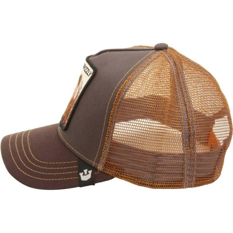 8f6527f06 Goorin Bros. Bear Grizz Brown Trucker Hat